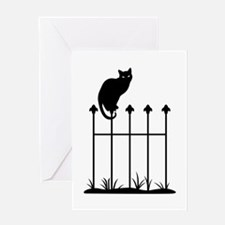 Halloween Cat Greeting Cards