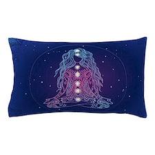 Yoga Girl Detailed Design Pillow Case