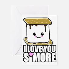 I Love You Smore Greeting Card