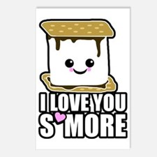 I Love You Smore Postcards (Package of 8)