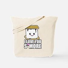 I Love You Smore Tote Bag
