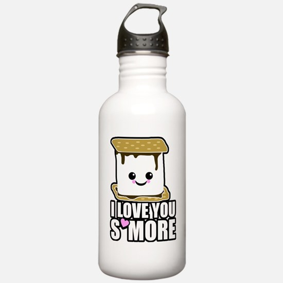 I Love You Smore Water Bottle