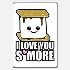 I Love You Smore Banner