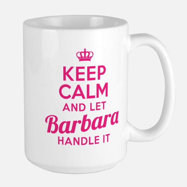 Keep Calm Barbara Mugs