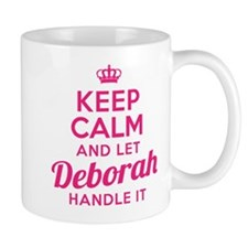 Keep Calm Deborah Mugs