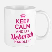Keep Calm Deborah Mugs