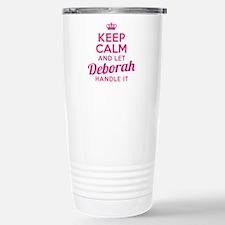 Keep Calm Deborah Travel Mug