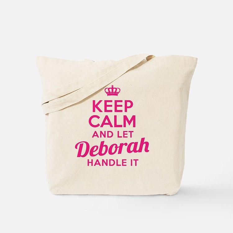 Keep Calm Deborah Tote Bag