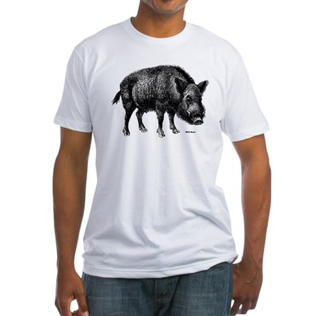 Wild Boar Fitted T-Shirt