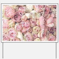 Roses Yard Sign