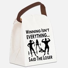 Winning Isn't Everything Canvas Lunch Bag