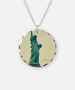 Statue of Liberty Good Tidin Necklace