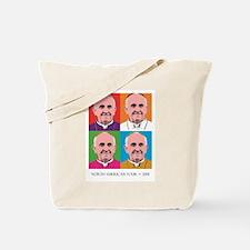 Cute Pope Tote Bag