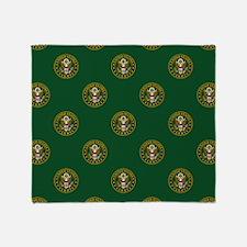 U.S. Army: Army Symbol (Green) Throw Blanket