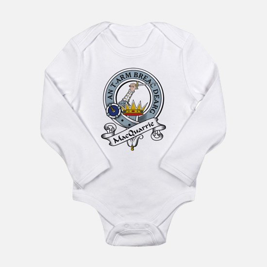MacQuarrie Clan Badge Infant Creeper Body Suit