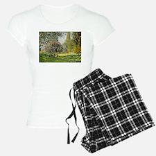 The Parc Monceau - Claude M Pajamas