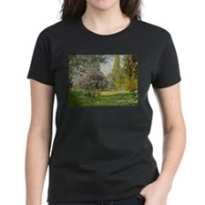 The Parc Monceau - Claude Monet T-Shirt