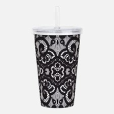 Paris vintage black l Acrylic Double-wall Tumbler