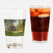 The Parc Monceau - Claude Monet Drinking Glass