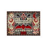 Ouija board 5x7 Rugs
