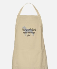 Girl in my Life Natural BBQ Apron
