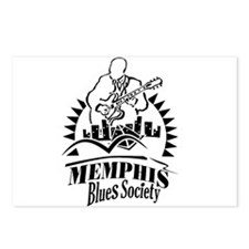 Memphis Blues Society Postcards (Package of 8)