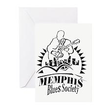 Memphis Blues Society Greeting Cards (Pk of 20)