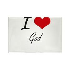 I love God Magnets