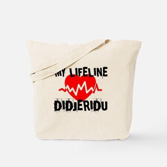 My Lifeline Didjeridu Tote Bag