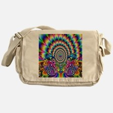 Trippy visuals Messenger Bag