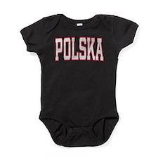 Cute Polska Baby Bodysuit
