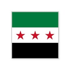 "Syrian National Coalition F Square Sticker 3"" x 3"""