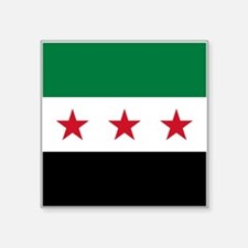 """Syrian National Coalition F Square Sticker 3"""" x 3"""""""