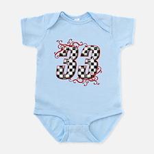 RaceFashion.com 33 Infant Bodysuit