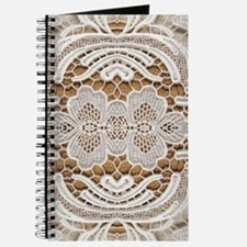 girly hipster vintage white lace Journal