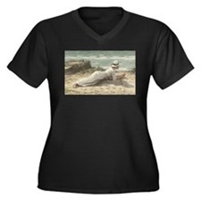 Summer on The Dunes - Niels Fred Plus Size T-Shirt