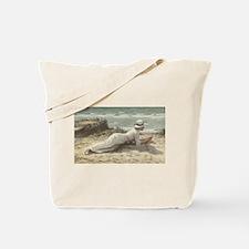 Summer on The Dunes - Niels Frederik Jens Tote Bag