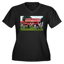 British Bar bus Plus Size T-Shirt