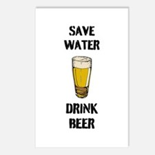 Drink Beer Postcards (Package of 8)