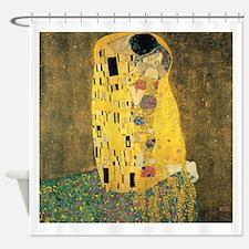 The Kiss - Gustav Klimt Shower Curtain