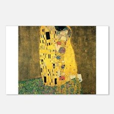 The Kiss - Gustav Klimt Postcards (Package of 8)