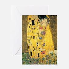 The Kiss - Gustav Klimt Greeting Cards