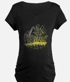 Radiant Mountain Valley Trrees Maternity T-Shirt