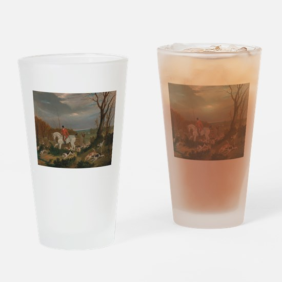 The Suffolk Hunt - John Frederick Drinking Glass