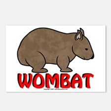Wombat Logo Postcards (Package of 8)