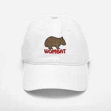 Wombat Logo Baseball Baseball Cap