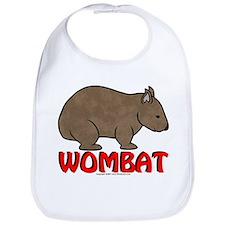 Wombat Logo Bib