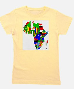 Cute Egyptian flag Girl's Tee