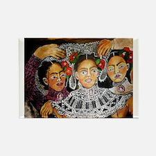 Hispanic Panic Wedding Rectangle Magnet