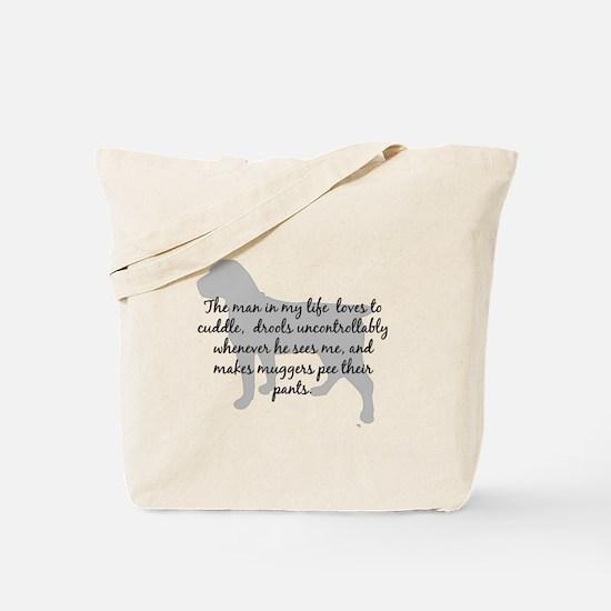 Boerboel Man in my Life Tote Bag